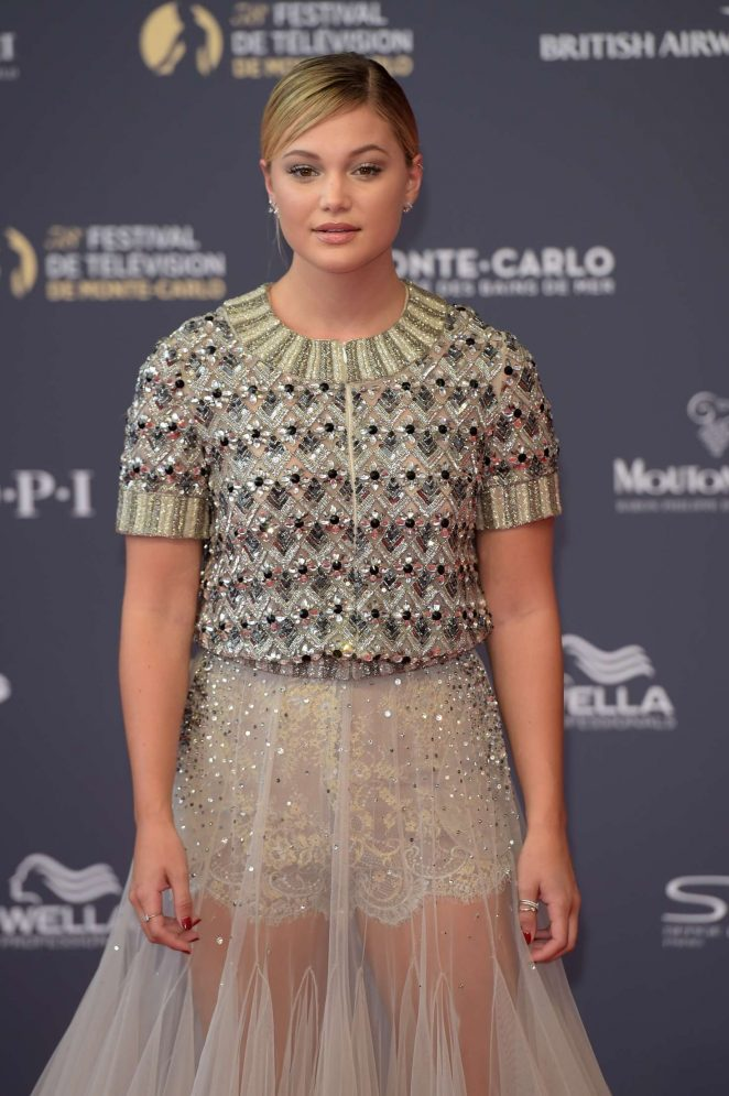 Olivia Holt - 2018 International Television Festival Opening Ceremony in Monte Carlo