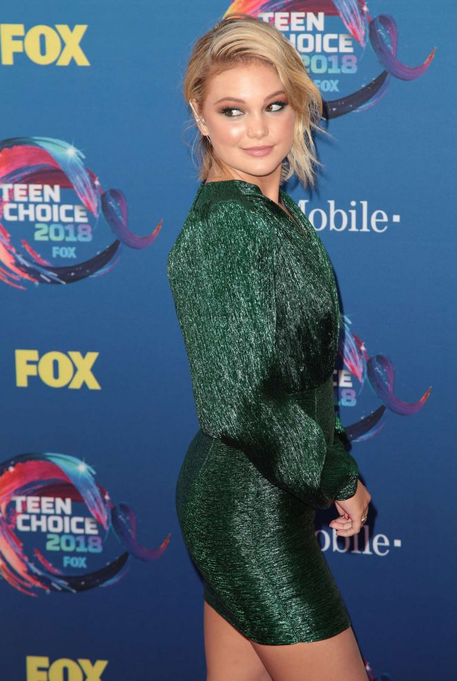 Olivia Holt – 2018 Teen Choice Awards in Inglewood