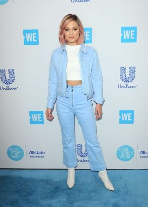 Olivia Holt - 2018 WE Day California in Los Angeles