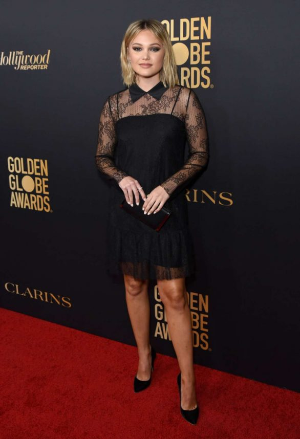 Olivia Holt - 2019 HFPA And THR Golden Globe ambassador party in West Hollywood
