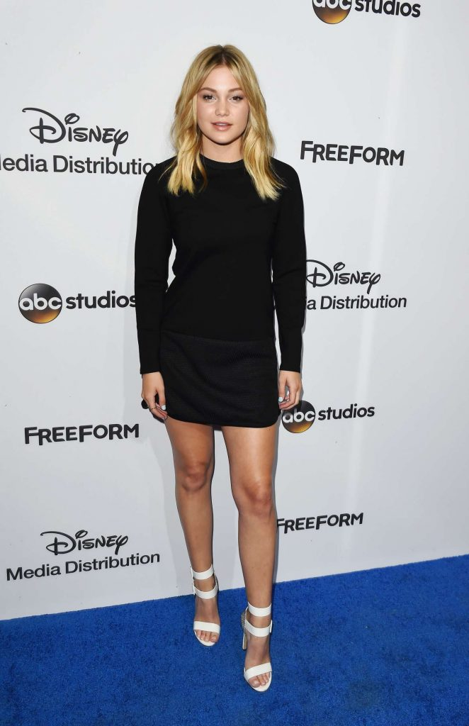 Olivia Holt – ABC International Upfronts 2017 in Burbank