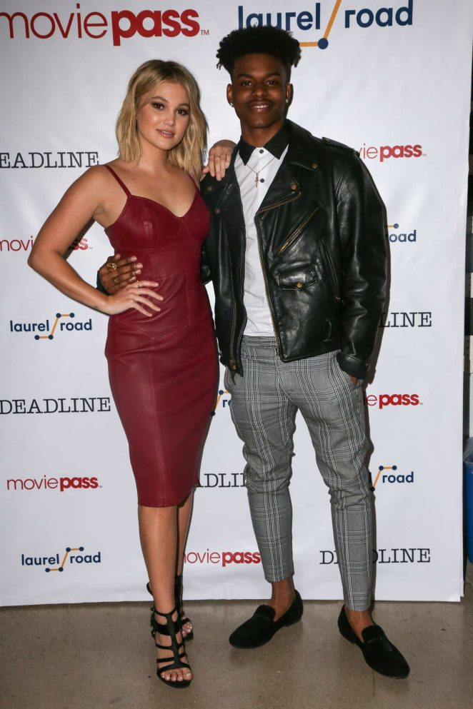 Olivia Holt and Aubrey Joseph - Deadline Studio at SXSW Presented by MoviePass in Austin