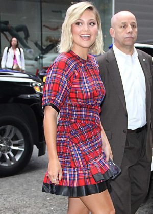 Olivia Holt - Arrives at 'Good Morning America' TV show in New York