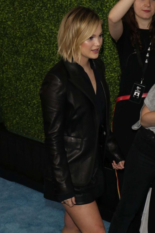 Olivia Holt - Arrives at the We Day Event in Los Angeles