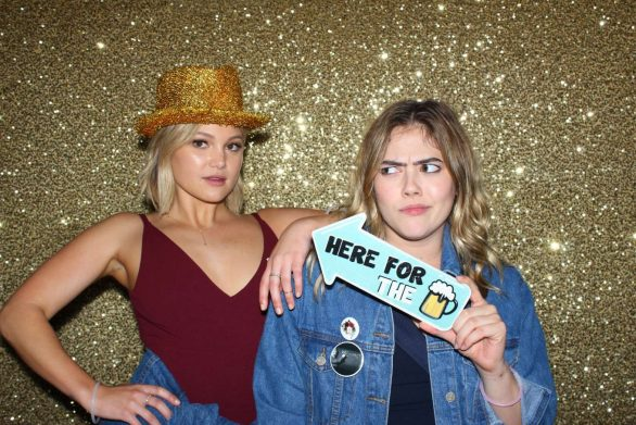 Olivia Holt at a Wedding Photobooth (December 2019)