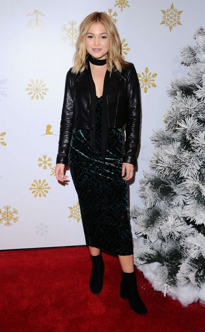 Olivia Holt - Brooks Brothers Celebrates the Holidays with St. Jude Children's Research Hospital