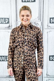 Olivia Holt - Discusses Marvel's 'Cloak and Dagger' at Build Studio in NYC