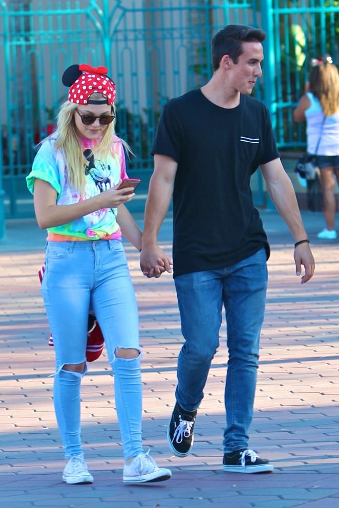 Olivia Holt - Disneyland in Anaheim