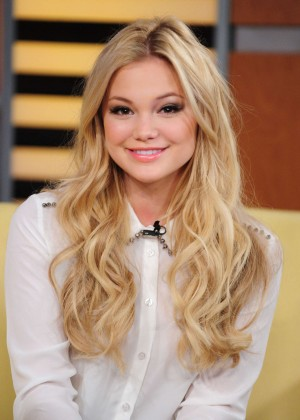 Olivia Holt - Fox 5 Good Day New York in NYC