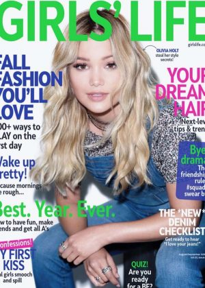 Olivia Holt - GirlsLife Cover (August/September 2016)