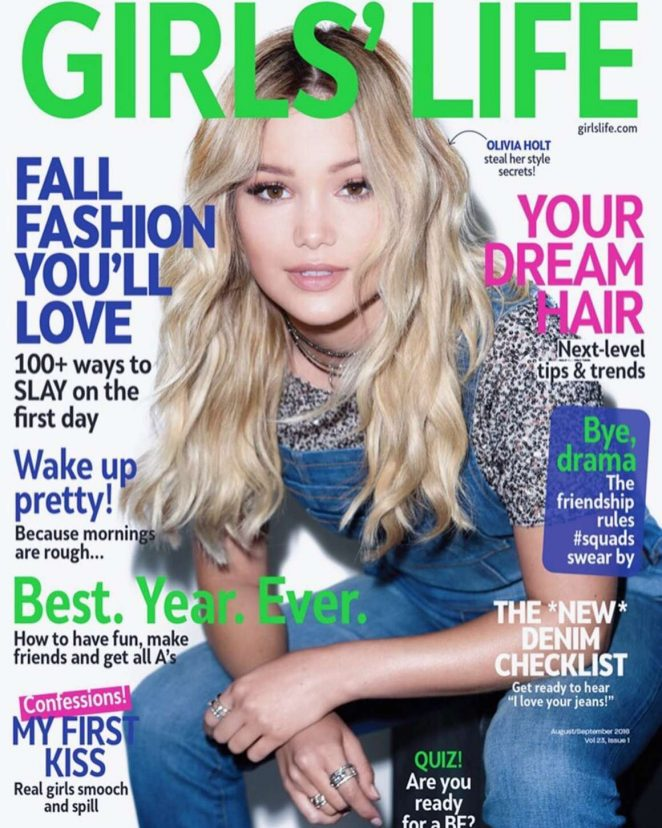 Olivia Holt - GirlsLife Cover (August/September 2016)