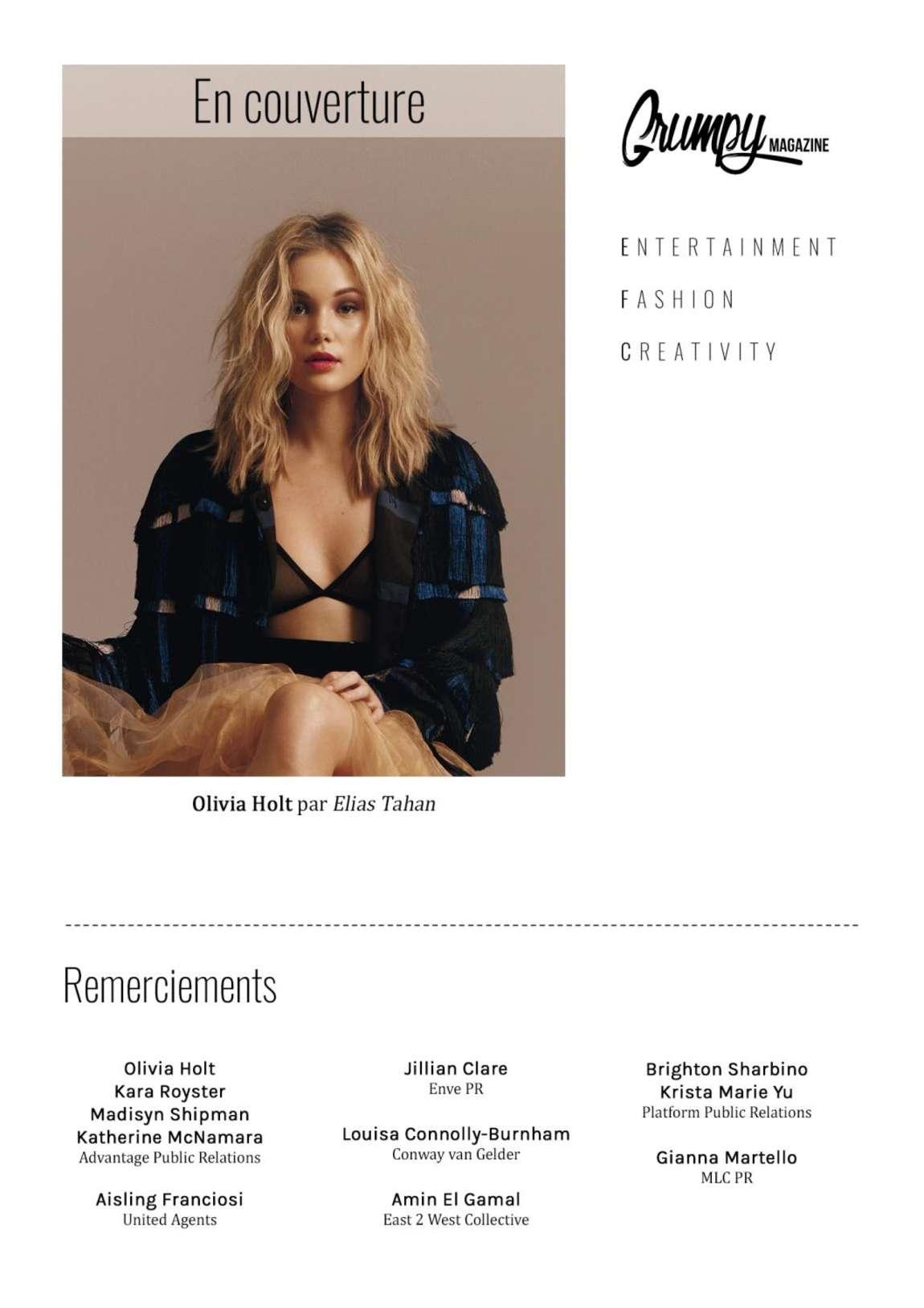 Olivia Holt – Grumpy Magazine (Feb/Mar 2017)   Olivia-Holt:-Grumpy-Magazine-2017--07