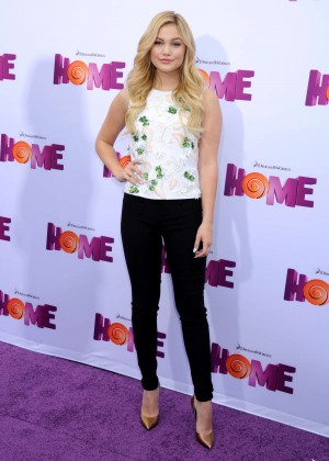 """Olivia Holt - """"Home"""" Premiere in Westwood"""
