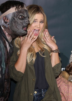 Olivia Holt - Knott's Scary Farm Black Carpet in Buena Park
