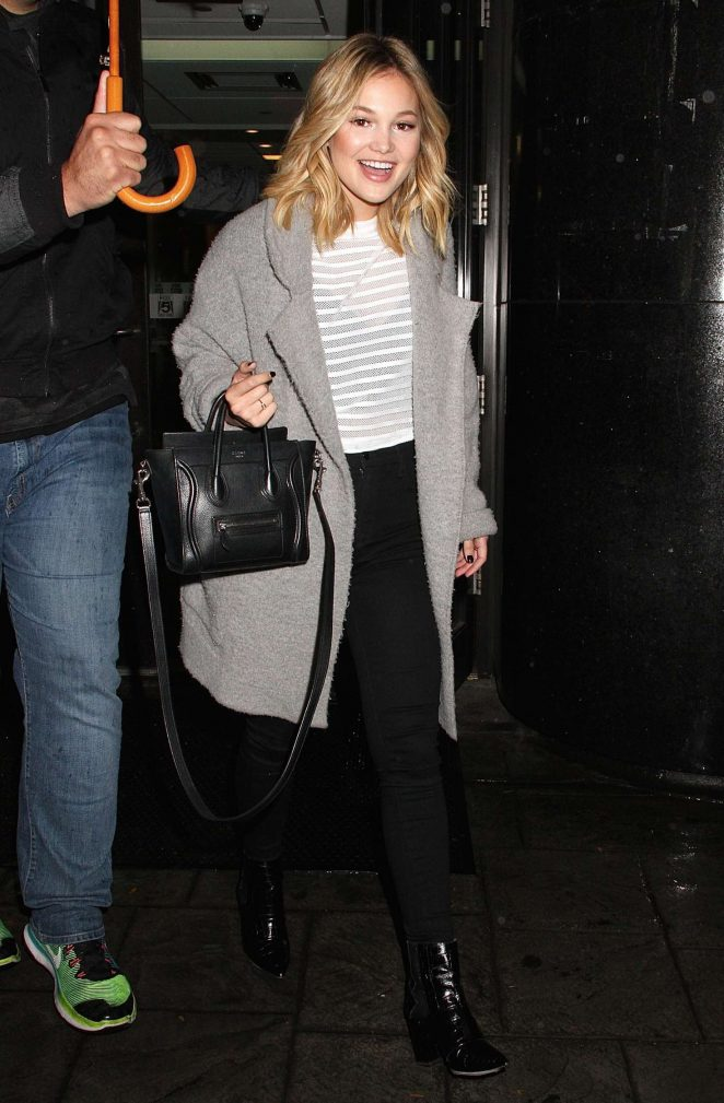 Olivia Holt - Leaving 'Good Day New York' in NYC