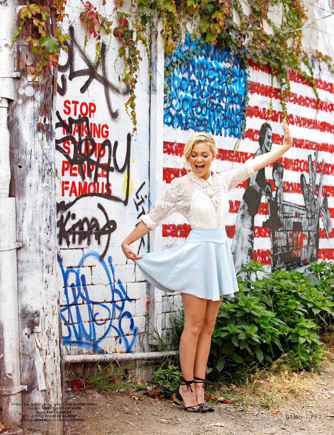 Olivia Holt 2015 : Olivia Holt: LVlten Magazine 2015 -02