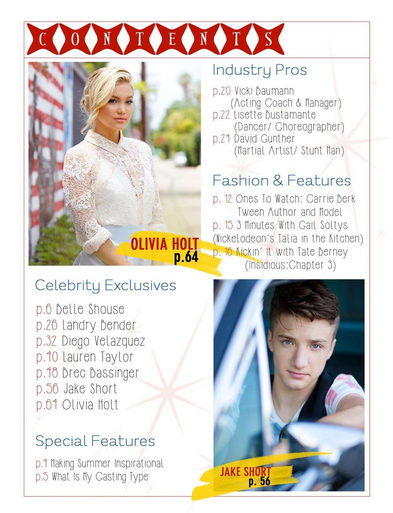 Olivia Holt 2015 : Olivia Holt: LVlten Magazine 2015 -03