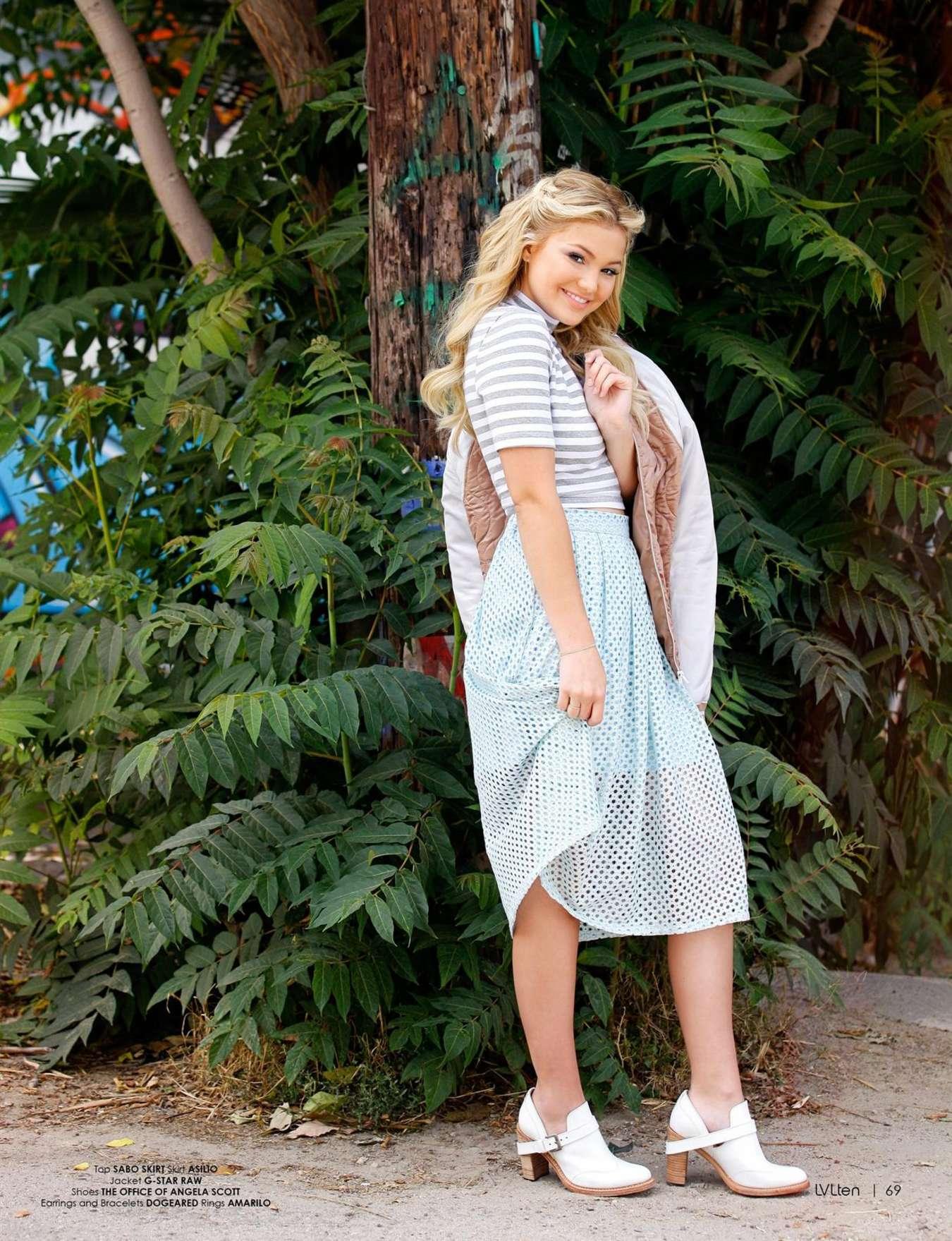 Olivia Holt 2015 : Olivia Holt: LVlten Magazine 2015 -05