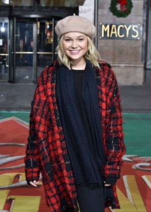 Olivia Holt - Macy's Thanksgiving Day Parade Rehearsals in NYC