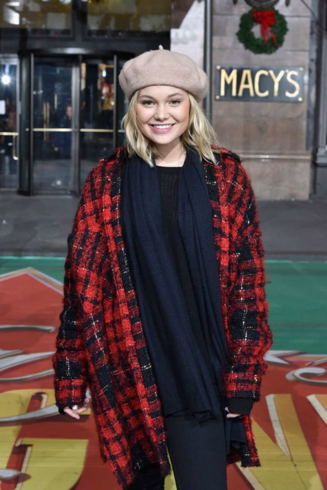 Olivia Holt – Macy's Thanksgiving Day Parade Rehearsals in NYC