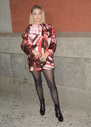 Olivia Holt - Marc Jacobs Fashion Show 2018 in NY
