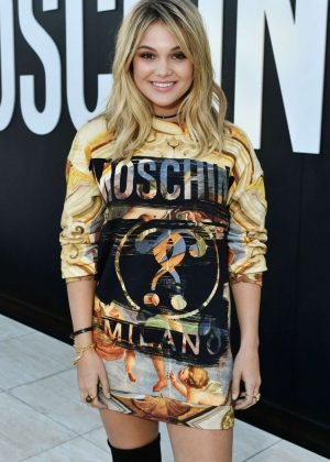 Olivia Holt - MOSCHINO SS 2018 Resort Collection in LA