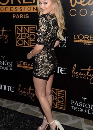 Olivia Holt - Nine Zero One Salon Melrose Place Launch Party in LA