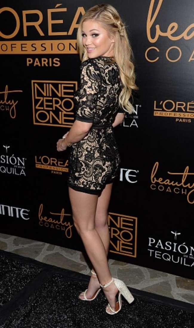 Olivia Holt - Nine Zero One Salon Melrose Place Launch Party in LA