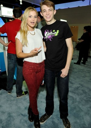 Olivia Holt: Nintendo hosts celebrities at 2015 E3 Gaming Convention -02