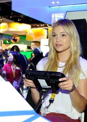 Olivia Holt: Nintendo hosts celebrities at 2015 E3 Gaming Convention -07