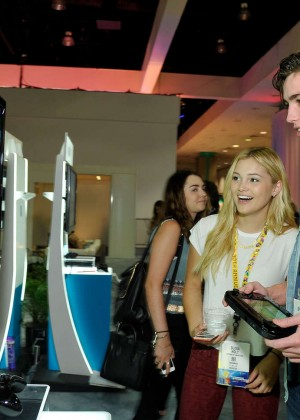 Olivia Holt: Nintendo hosts celebrities at 2015 E3 Gaming Convention -10
