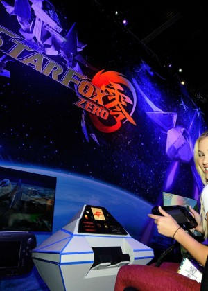Olivia Holt: Nintendo hosts celebrities at 2015 E3 Gaming Convention -14