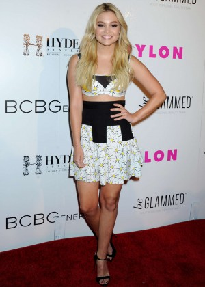 Olivia Holt - NYLON Young Hollywood Party 2015 in Hollywood