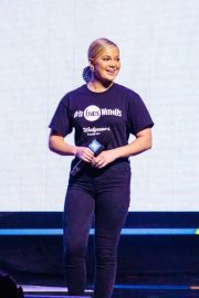 Olivia Holt - On Stage For WE Day at The Tacoma Dome in Tacom