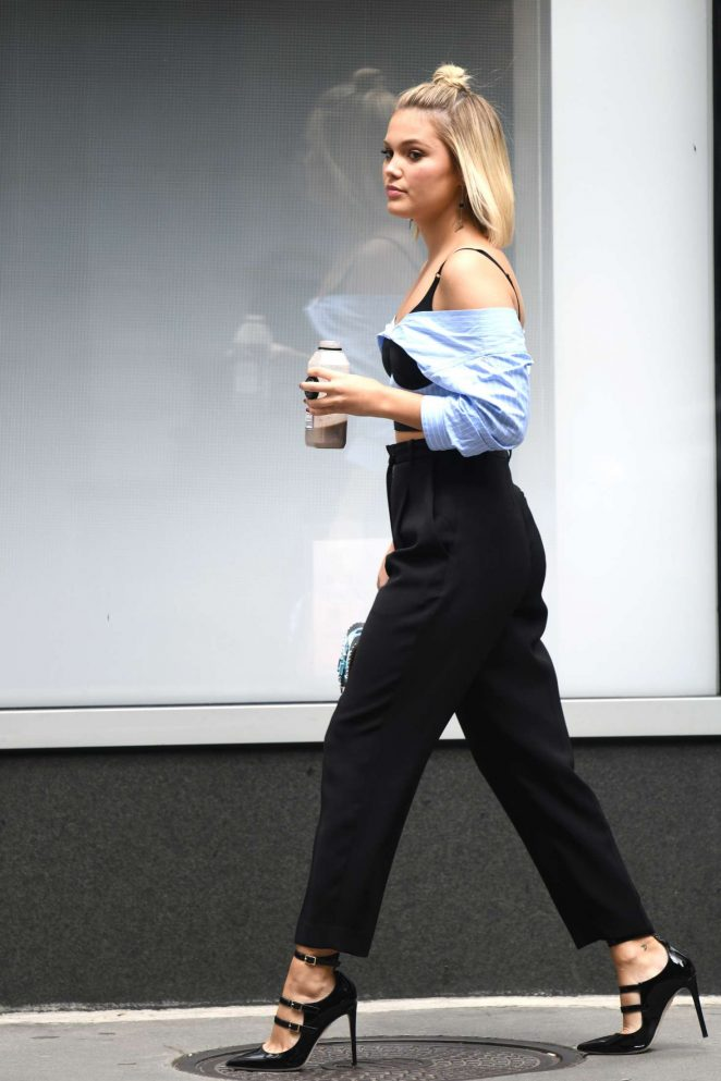 Olivia Holt - Out in NYC