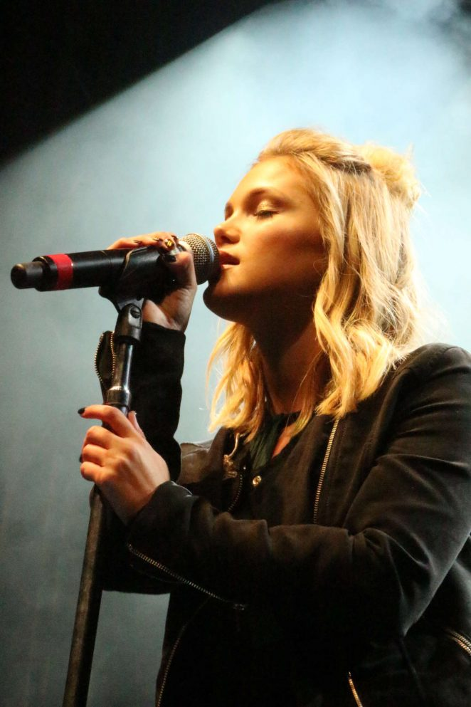 Olivia Holt: Performing at the Rise of a Phoenix Tour 2nd Concert -01