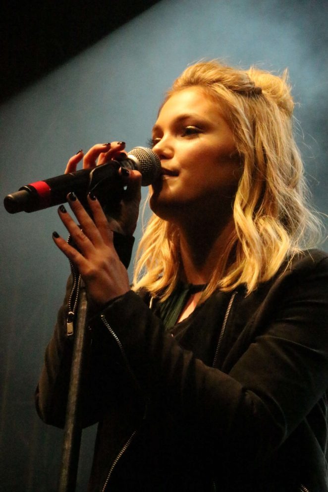 Olivia Holt: Performing at the Rise of a Phoenix Tour 2nd Concert -03