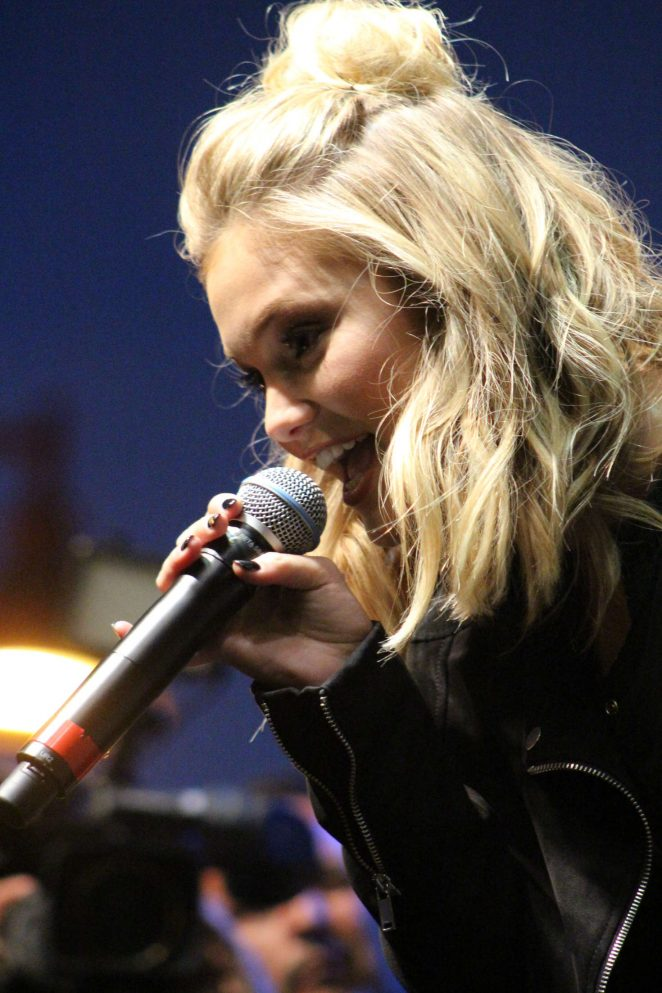 Olivia Holt: Performing at the Rise of a Phoenix Tour 2nd Concert -06