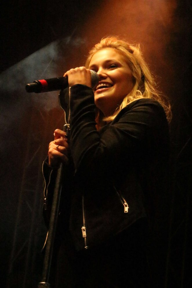 Olivia Holt: Performing at the Rise of a Phoenix Tour 2nd Concert -17