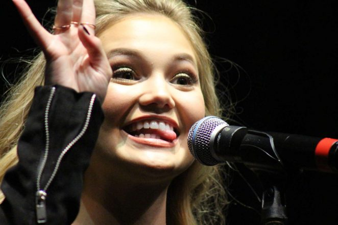 Olivia Holt: Performing at the Rise of a Phoenix Tour 2nd Concert -20