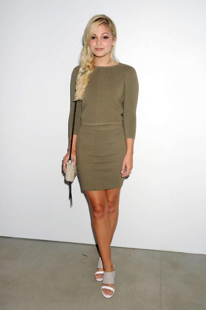 Olivia Holt - Rebecca Minkoff 2015 : Olivia Holt: Rebecca Minkoff Fashion Show Spring 2016 NYFW -06