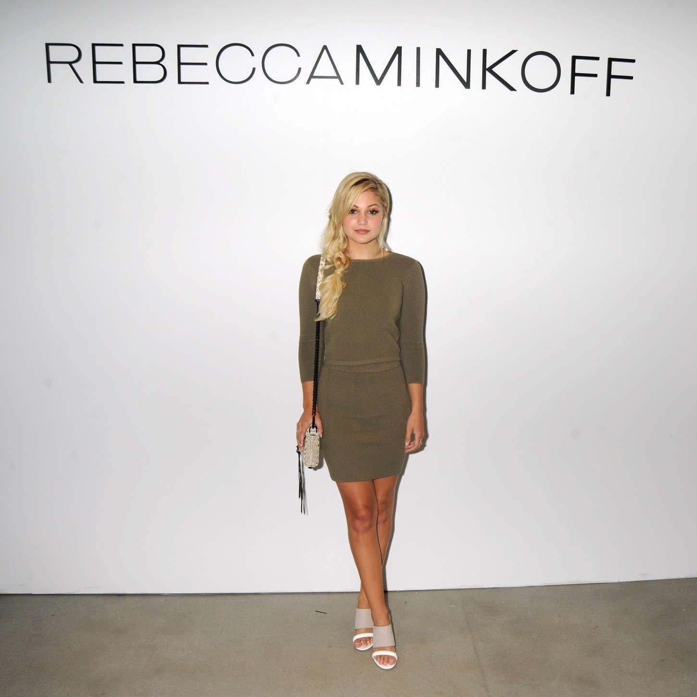 Olivia Holt - Rebecca Minkoff 2015 : Olivia Holt: Rebecca Minkoff Fashion Show Spring 2016 NYFW -12