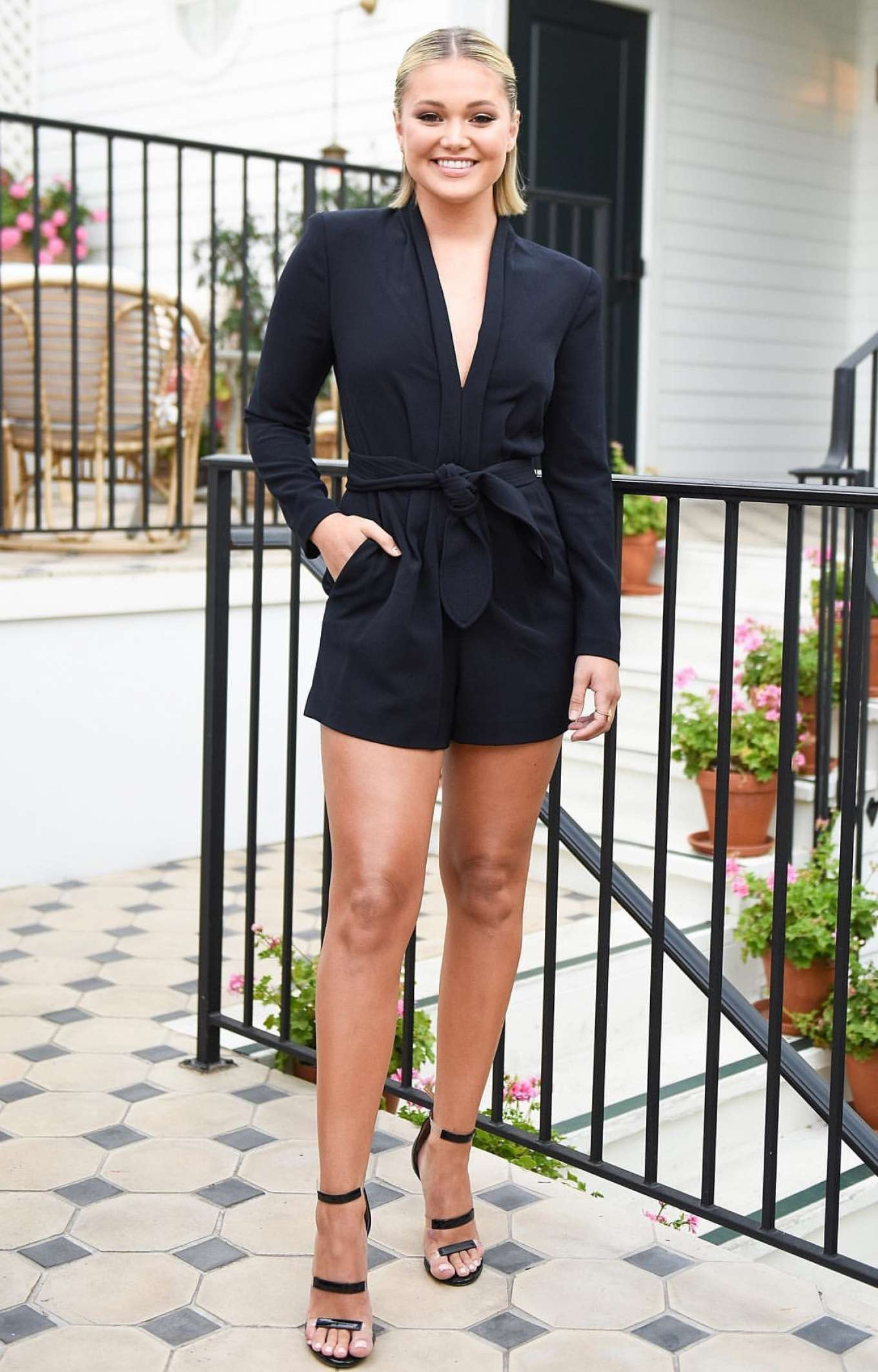 Olivia Holt - Tamara Mellon x A.L.C. Launch Event in West Hollywood