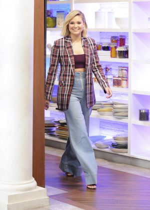 Olivia Holt - 'The Chew' Guest Appearance in New York