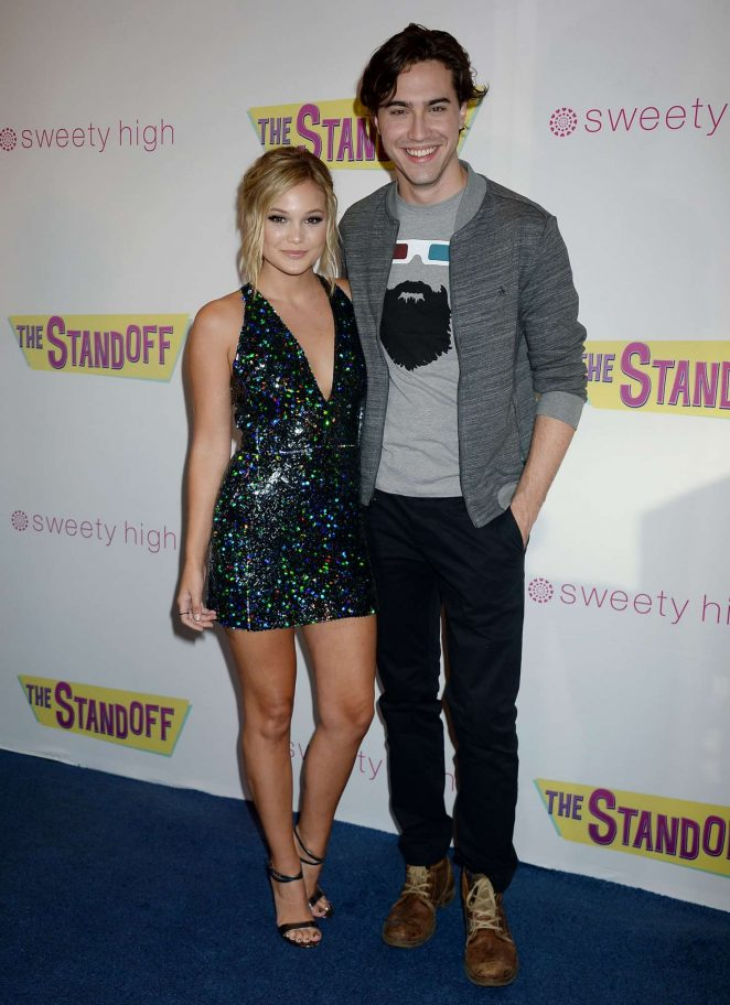 Olivia Holt: The Standoff LA Premiere -02