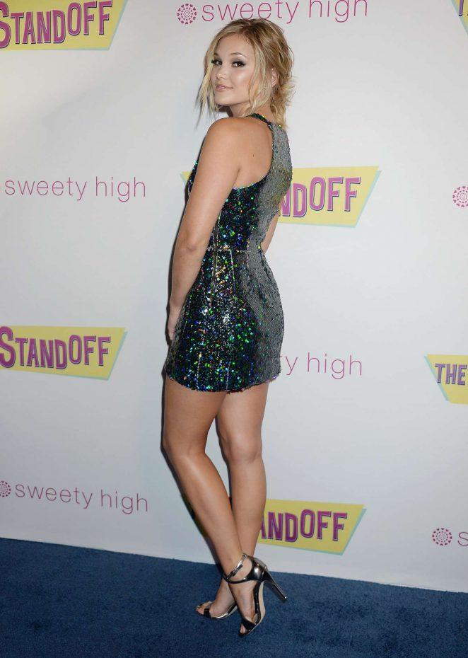 Olivia Holt: The Standoff LA Premiere -13