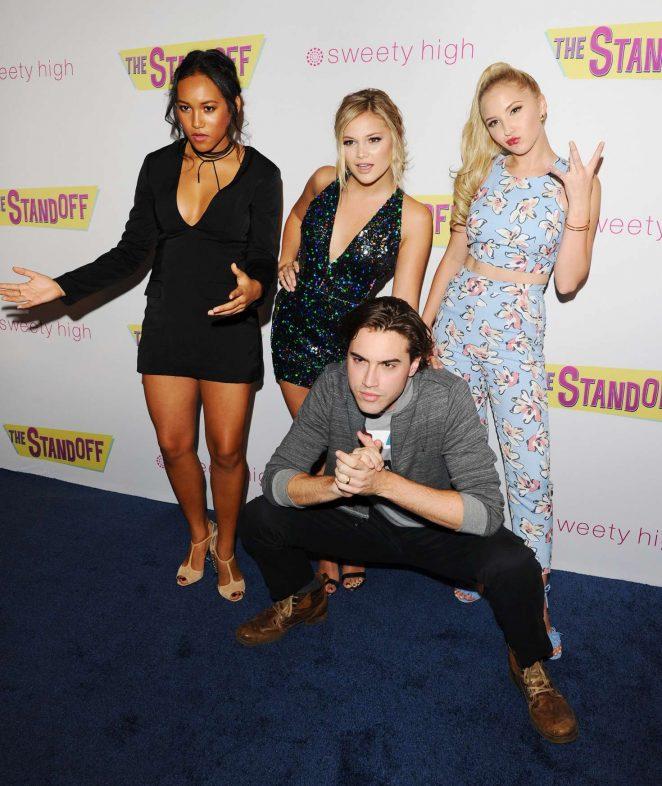 Olivia Holt: The Standoff LA Premiere -14