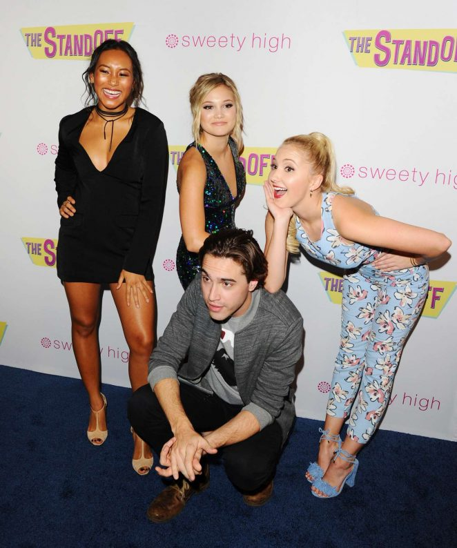 Olivia Holt: The Standoff LA Premiere -16