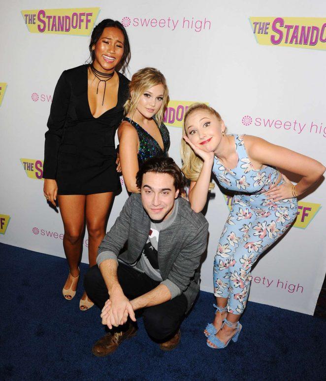 Olivia Holt: The Standoff LA Premiere -20