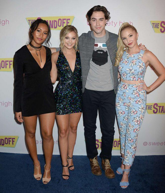 Olivia Holt: The Standoff LA Premiere -28